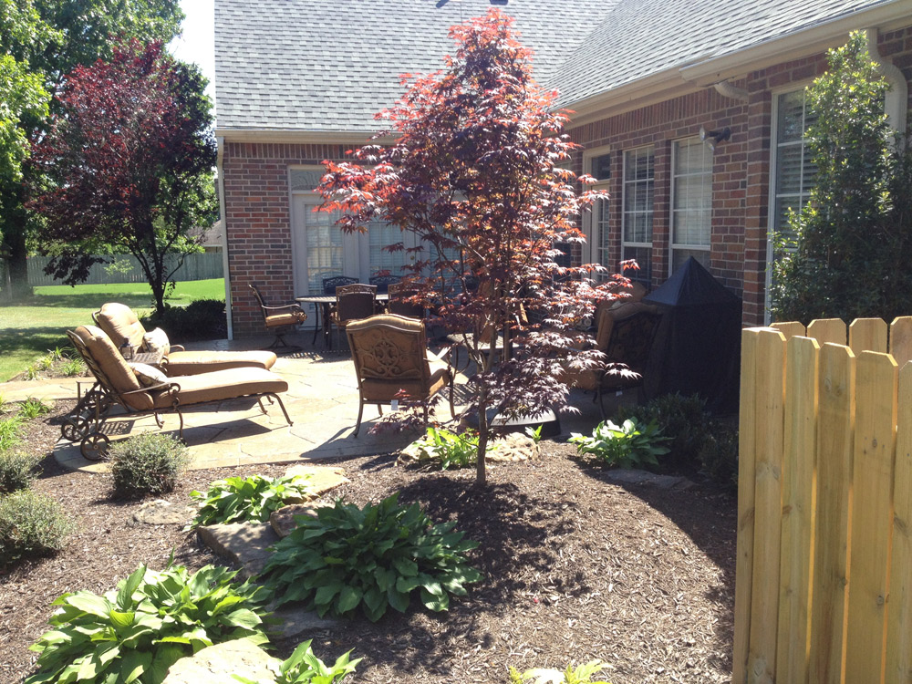 Residential landscaping service second nature landscapes for Residential landscaping