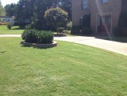 Outdoor walkway using pavers