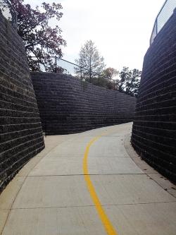 Retaining Wall Pathway - NWA