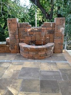 Patio - Stone Fountain