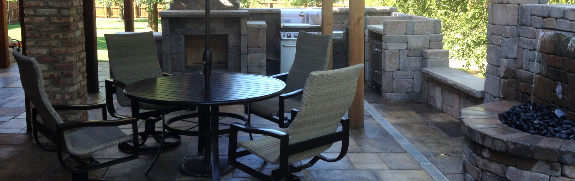 outdoor patio designs in northwest Arkansas