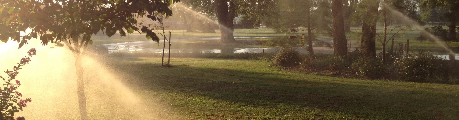Irrigation systems and Outdoor landscaping