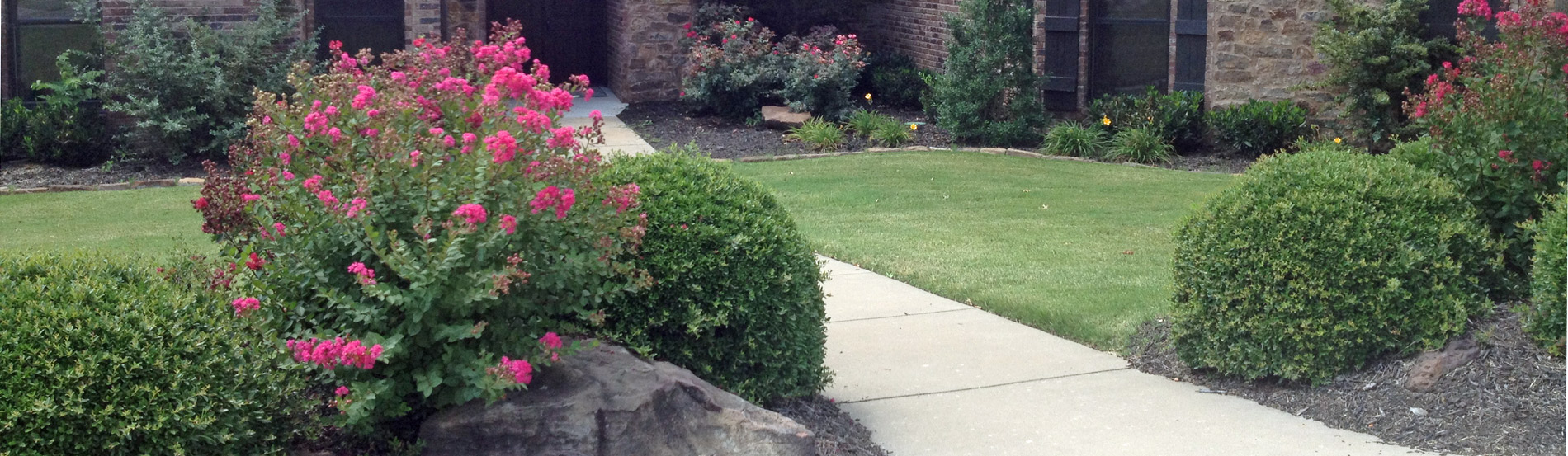 Landscape Company NWA - Rock Wall on Abbey Lane