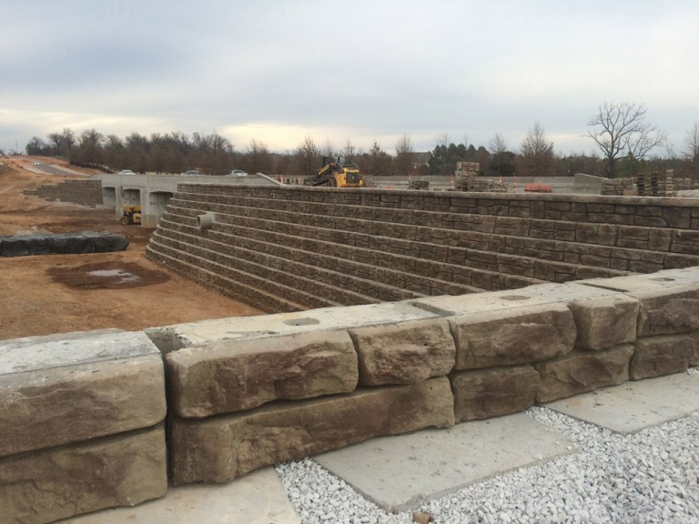 Commercial Retaining Walls 4