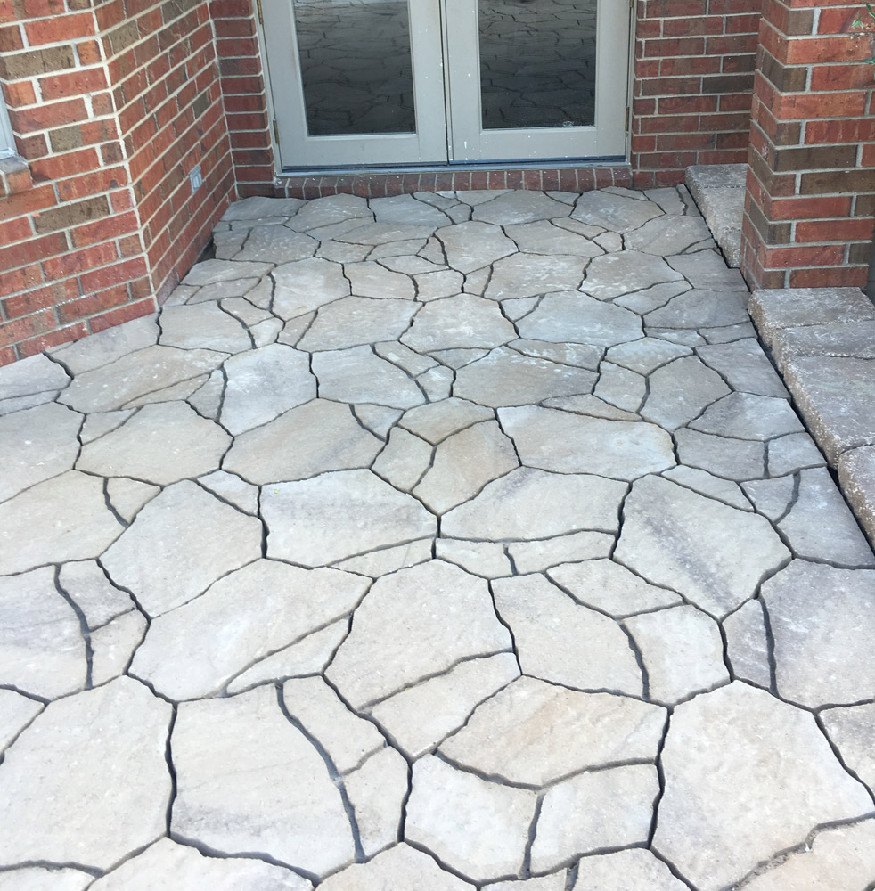 Outdoor pavers stone patio outdoor living