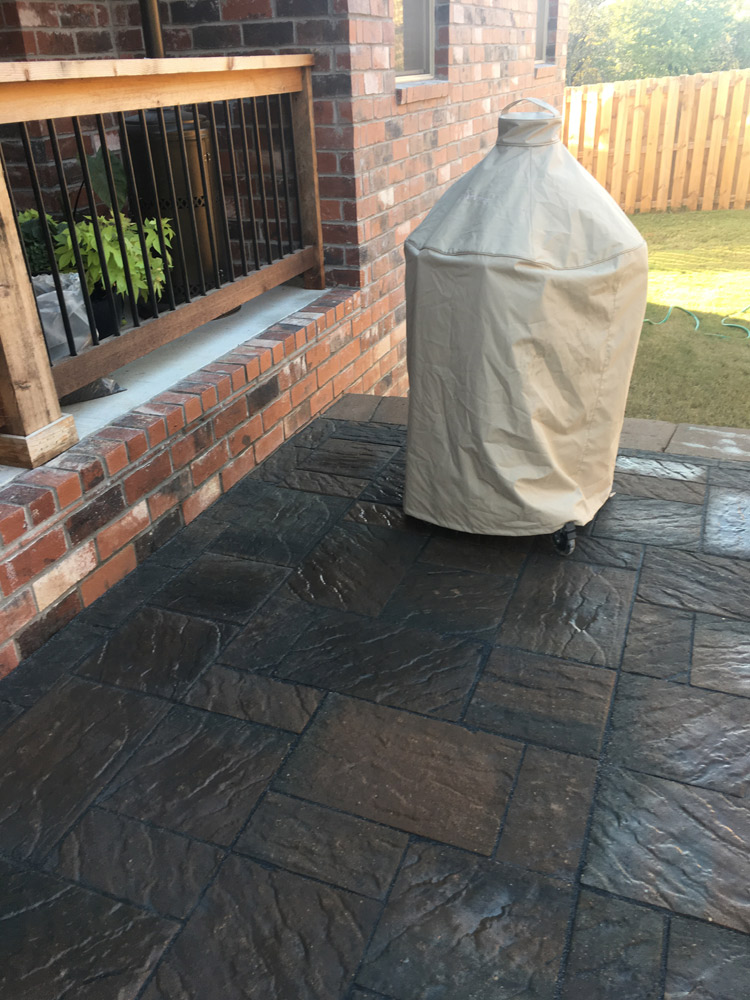 Walkways and pavers